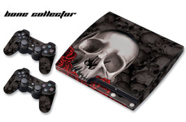 Skin Decal Wrap for PS3 Slim Playstation Gaming Console Controller 3 PS3Slim BCB - $13.96