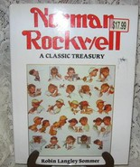 Norman Rockwell: A Classic Treasury-R. Sommer-Hardcover-Printed in Spain... - $11.00