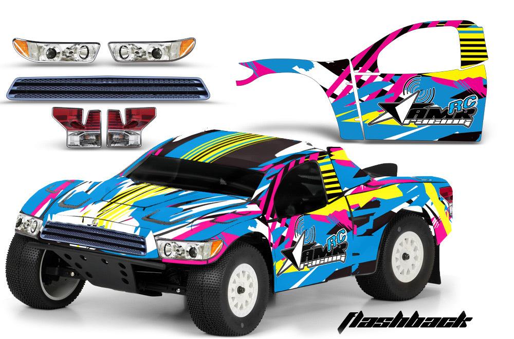 Proline Toyota Tundra >> Toyota Tundra AMR RC Graphic Decal Kit Short Course Associated Proline Body FLSH - Cars, Trucks ...