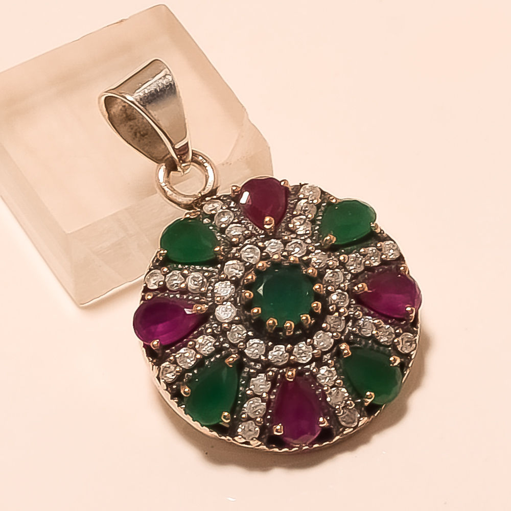 f788ddae1 925 Sterling Silver Vintage Old Natural Ruby and 50 similar items. S l1600