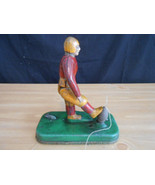 Vintage Toys Cast Iron Football Kicker 1920/30'... - $513.25