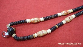Thai Hand Made / Woodern Thai Amulet's Necklace Code#012 - $12.00