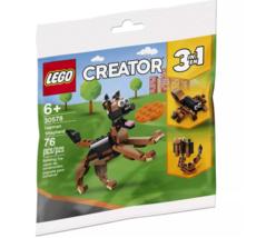 LEGO 30578 Creator 3 in 1 German Shepherd, Scorpion, Snake 76 Pieces NEW - $10.88