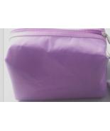 ULTA Light Purple  Cosmetic Bag with Polka Dot Lining - $5.00