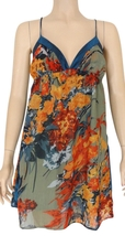 XXI Forever 21 floral halter dress size medium  - $13.95