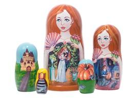 "Cinderella Nesting Doll - 6"" w/ 5 Pieces - $44.00"