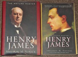Henry James The Young Master and Henry James The Mature Master Sheldon M... - $4.00