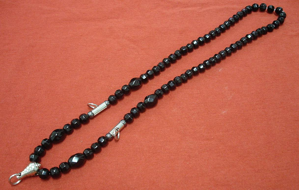 Thai Hand Made / LINIL GLASS Thai Amulet's Necklace Code#011
