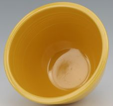 Vintage Original Fiesta #4 Yellow Mixing Bowl No Bottom Rings - EX Condition image 5