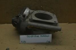 05-07 Ford Five Hundred Throttle Body Valve 6F9EAA Assembly 240-15B1 - $33.99