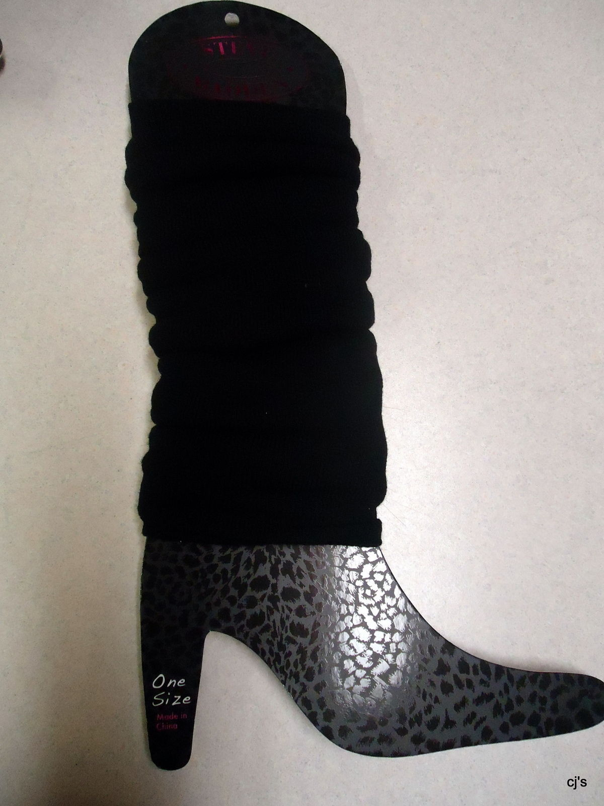 Steve Madden Leg Warmers in Black One size fits all