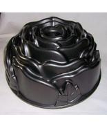 Nordic Ware Rose Bundt Cast Aluminum 10 Cup Cake Pan 54148 USA - $34.99