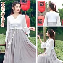 Chinese Wind Improved Hanfu Costume Fairy Dress - $41.82