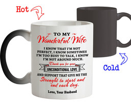 To My Wife Thank you for Unconditional Love - Best Gift For Wife Her Cof... - $18.95+