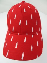 Coca-Cola Coke Soda Pop Drink All Over Print Sample Adjustable Adult Cap... - $39.59