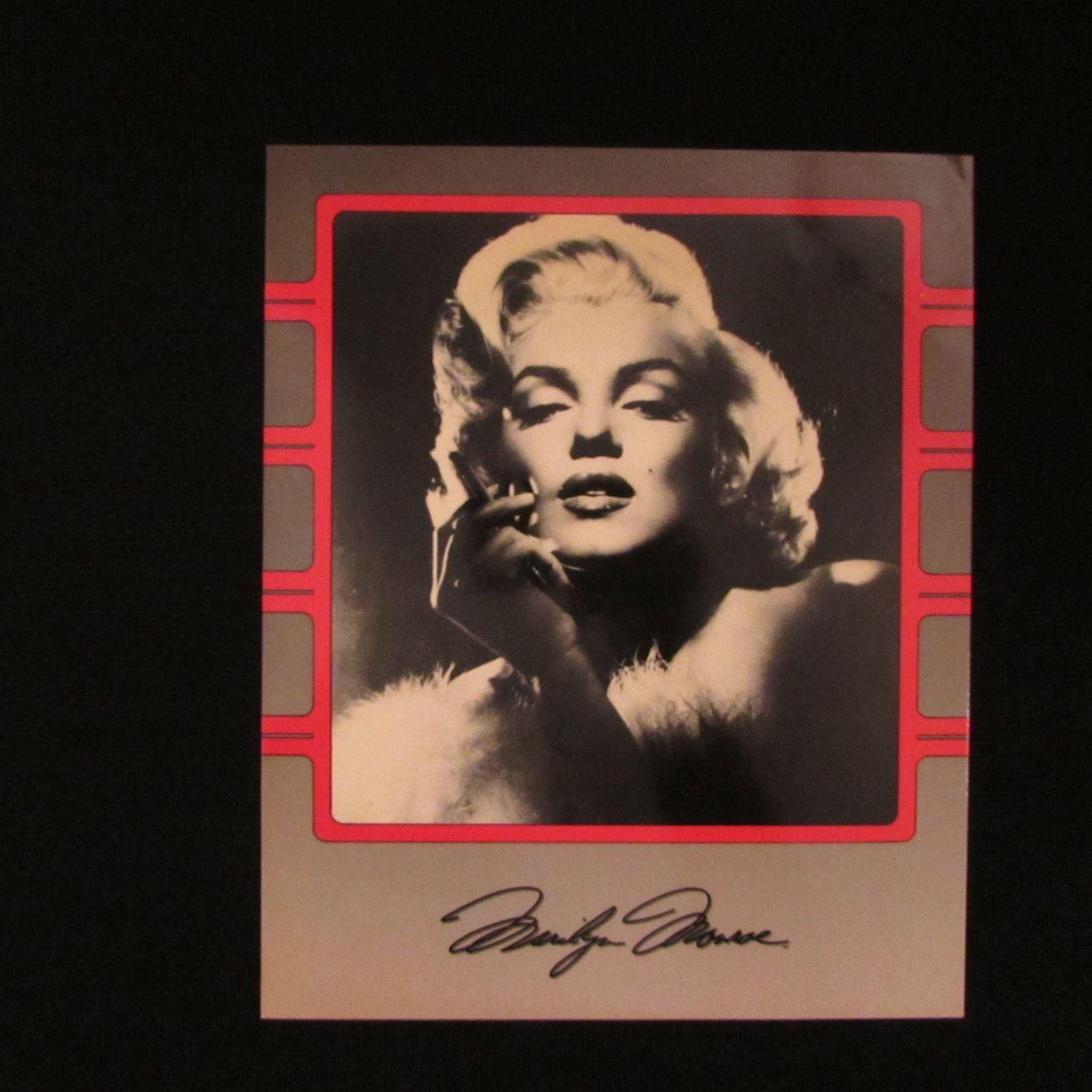 Marilyn Monroe 8 x 10 Movie Prints-Photo's x 2
