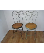 1950's Ice Cream Parlor Chairs   Set of 4 - $460.00
