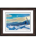 """Rockwell Kent """"The Trapper"""" Hudson River School Print - Limited Edition - $405.00"""