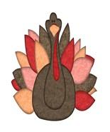 Autumn Turkey-Digital Download-ClipArt-Art Clip-Digital Art - $4.00