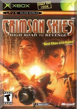 XBOX - Crimson Skies: High Road To Revenge (2002) *Complete With Instruc... - $5.99