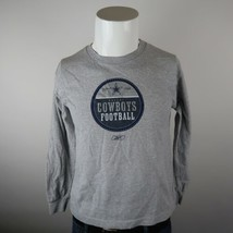 Reebok Gray Blue Crew Neck Dallas Cowboys NFL Football Sweatshirt Youth ... - $18.55