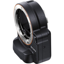 Sony A-Mount to E-Mount Lens Adapter with Translucent Mirror Technology (Black) - $284.57