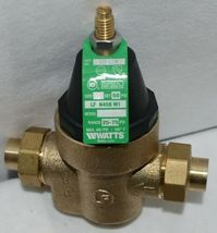 Watts Water Pressure Reducing Valve 1/2 Inch Connection 0009474 image 3