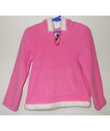 Girls Carters Pink Fleece Long Sleeve Hooded To... - $5.00