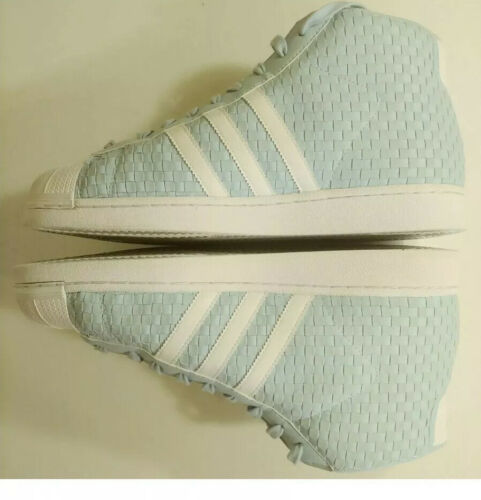 Adidas Pro Model Woven Shoes BY4169 Icey Blue/Running White- Size 11  Shell toe image 8