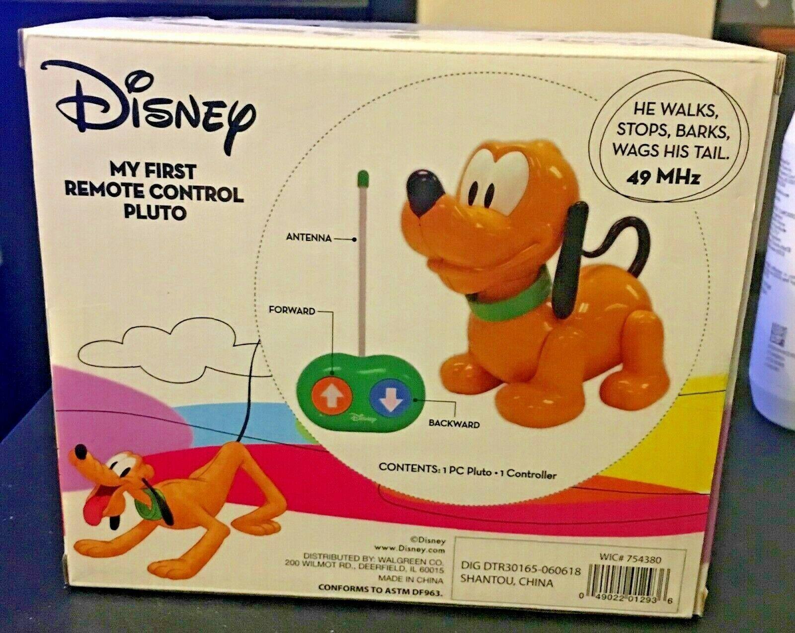 Disney Dog My First Remote Control Pluto NEW