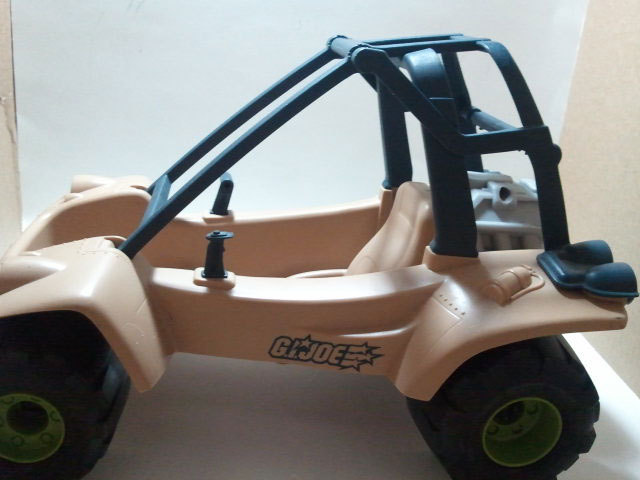 G.I. Joe 2002 Desert Hopper Vehicle 1/6 Scale Vehicle * Hasbro