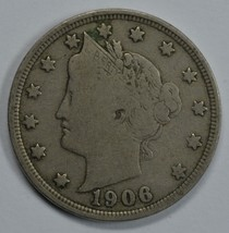 1906 Liberty Head circulated nickel F details Liberty visible - $14.00