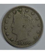 1906 Liberty Head circulated nickel F details Liberty visible - $14.00