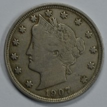 1907 Liberty Head circulated nickel F details Liberty visible - $15.00