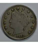 1912 Liberty Head circulated nickel F details Liberty visible - $13.50