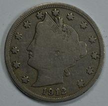 1912 D Liberty Head circulated nickel VG details Liberty visible - $22.00