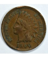 1900 Indian Head circulated penny VF/XF Details - $256,43 MXN