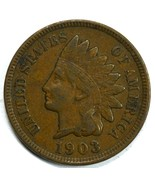 1903 Indian Head circulated penny VF/XF Details - $13.00