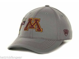 Minnesota Golden Gophers -TOW Ncaa Sketched Gray Stretch Fit CAP/HAT - Osfm - $18.04