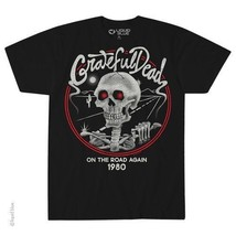 New GRATEFUL DEAD ON THE ROAD AGAIN 1980 LICENSED CONCERT BAND T SHIRT - $19.79+