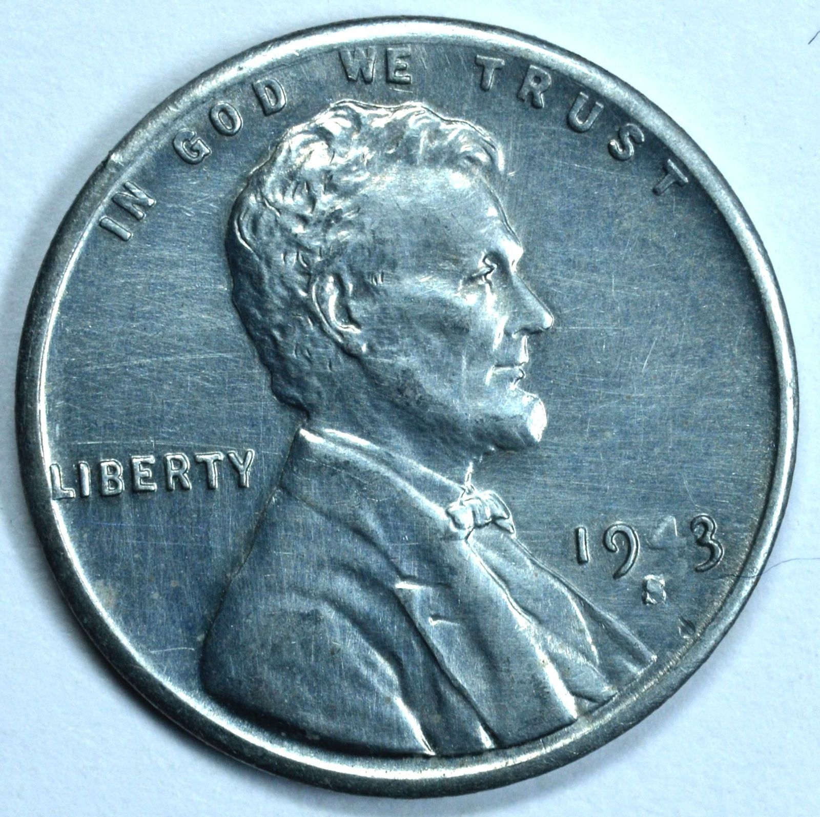1943 S Lincoln uncirculated steel wheat penny  - $14.75