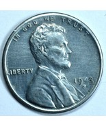 1943 S Lincoln uncirculated steel wheat penny  - ₨942.93 INR
