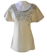 Libertalia Size XS Womens Beige Open Back Top - $14.99