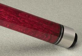 HUSTLER MCDERMOTT STAR S69 CLARET RED BILLIARD TABLE TWO PIECE POOL CUE ... - $135.00