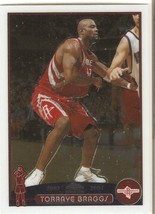 Torraye Braggs Topps Chrome 03-04 #157 Houston Rockets Harlem Globetrotters - $0.50