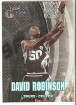 David Robinson Fleer Game Time 00-01 #76 San Antonio Spurs - $0.50