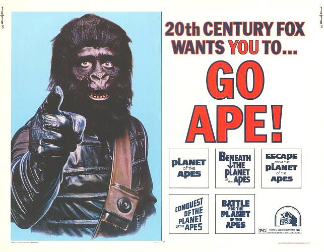 Go ape 11x14 poster