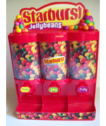 Starburst Jellybeans Candy Dispenser Three Sele... - $19.79