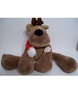 Hallmark Rodney Reindeer Soft Plush Stuffed Toy... - $19.79
