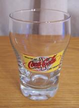 Coca Cola Las Vegas Shot Glass Clear with Logo - $9.89